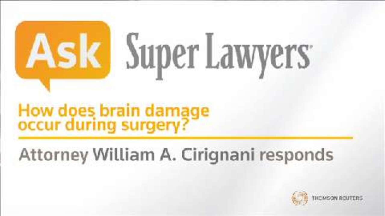 Brain Damage in Surgery | Illinois Super Lawyers