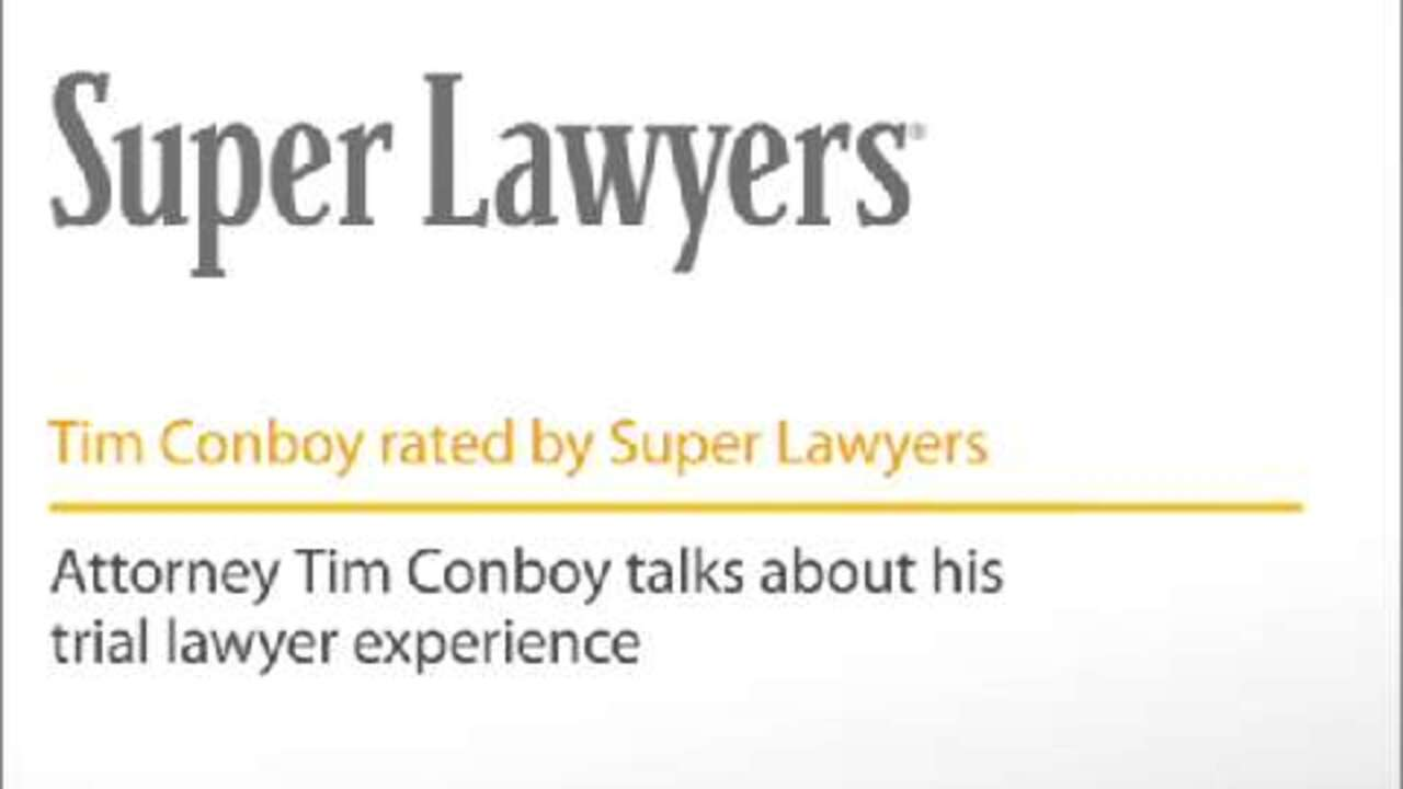 Timothy Conboy, Pittsburgh Personal Injury Attorney