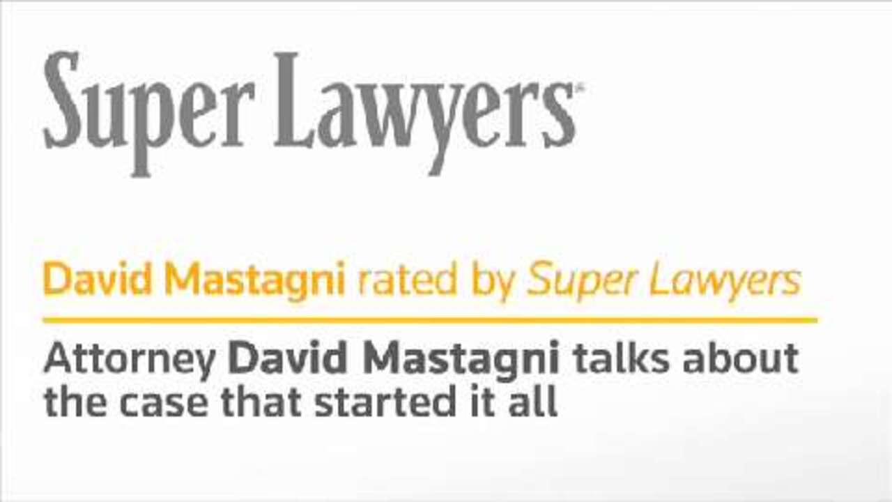 David Mastagni, a Sacramento Attorney, CA Super Lawyers