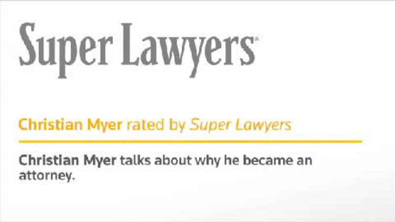 Christian Myer, Clearwater Injury Law Attorney