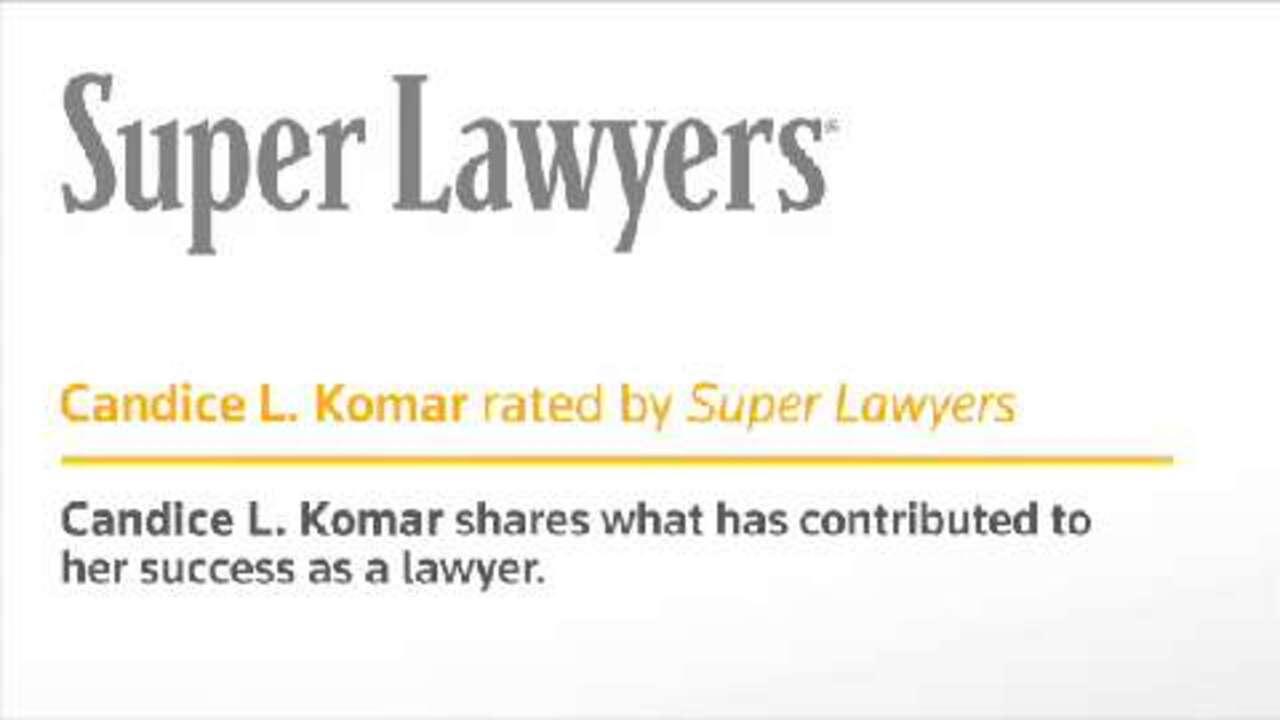 Candice L. Komar, Pittsburgh Divorce Attorney- Super Lawyers