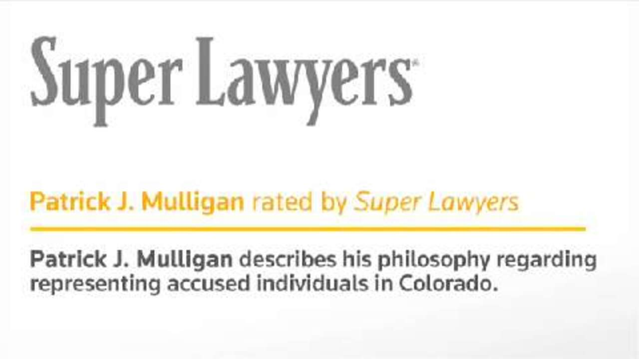 Patrick Mulligan, Denver Criminal Defense Attorney