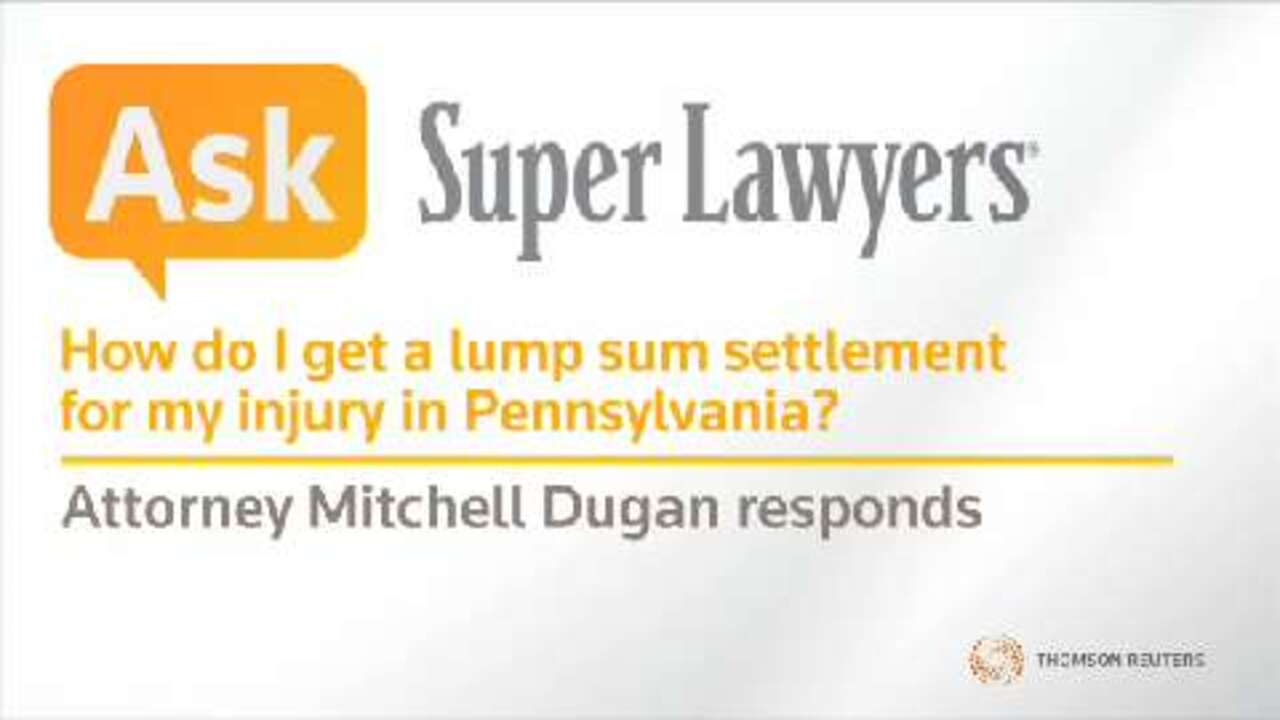 Mitchell Dugan, Pittsburgh Workers' Compensation Attorney