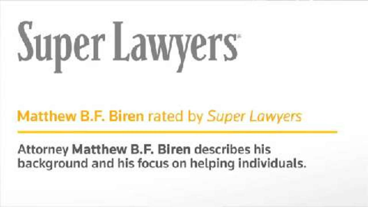 Matthew Biren, Los Angeles Personal Injury Lawyer