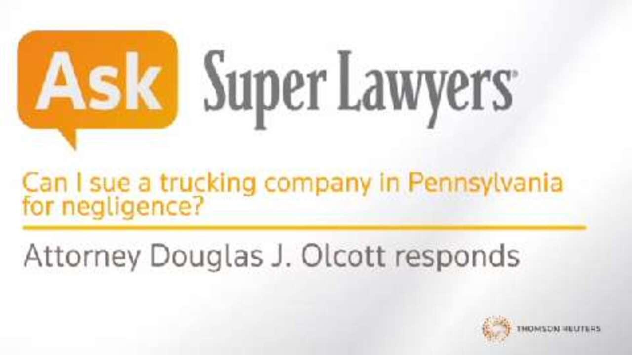 Douglas J. Olcott, Truck Accident Attorney- Super Lawyers