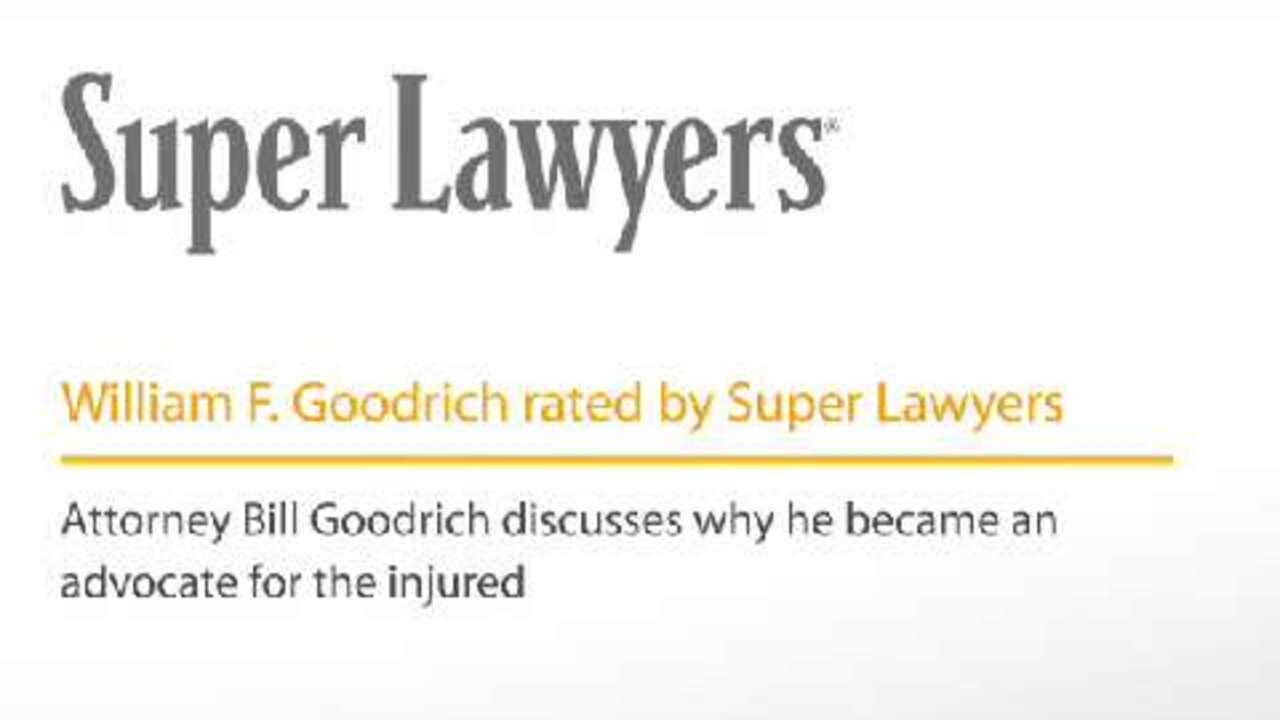 William Goodrich, Pittsburgh Personal Injury Attorney