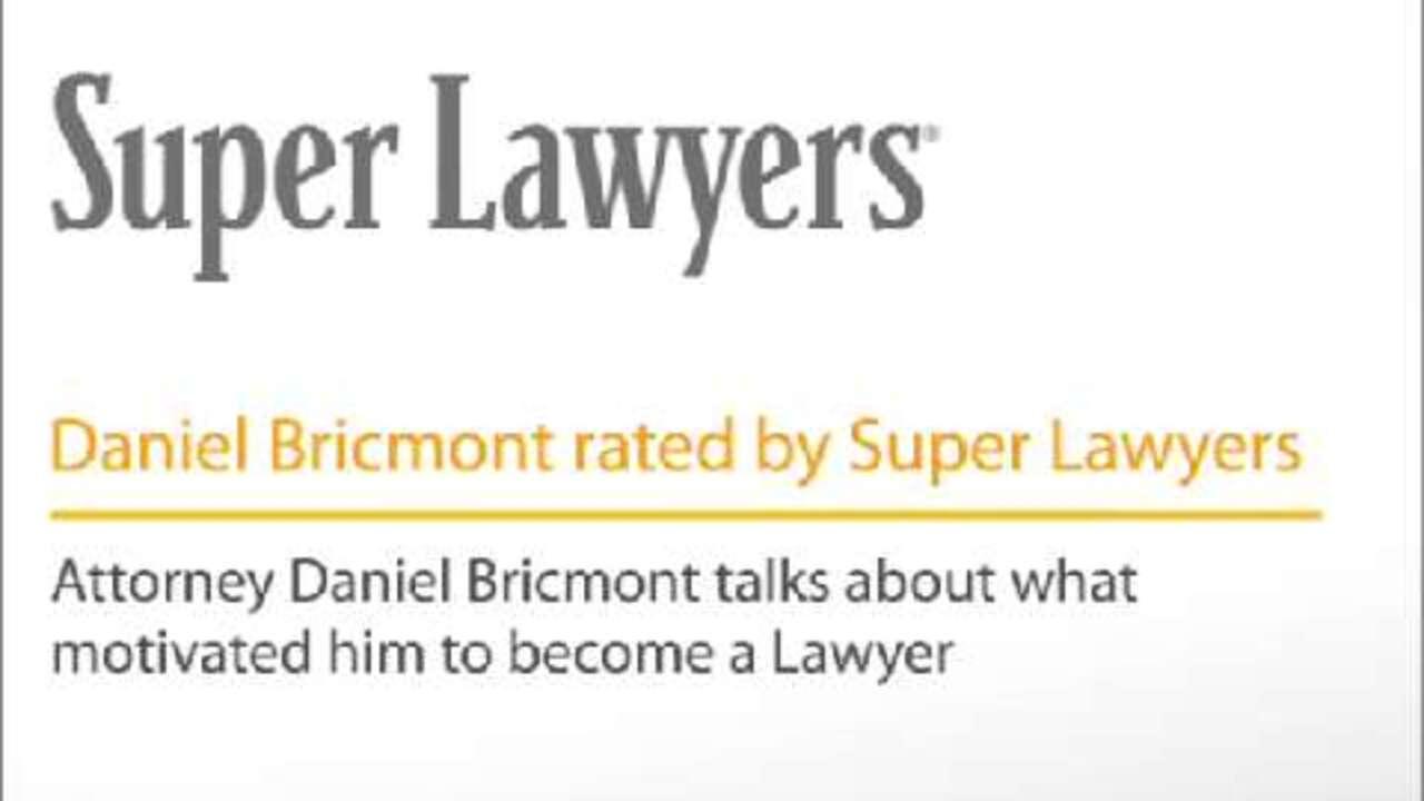 Daniel Bricmont, Pittsburgh Workers' Compensation Attorney
