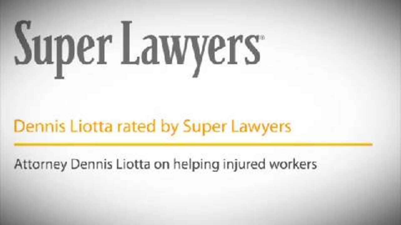 Dennis Liotta, Pittsburgh Workers Compensation Attorney