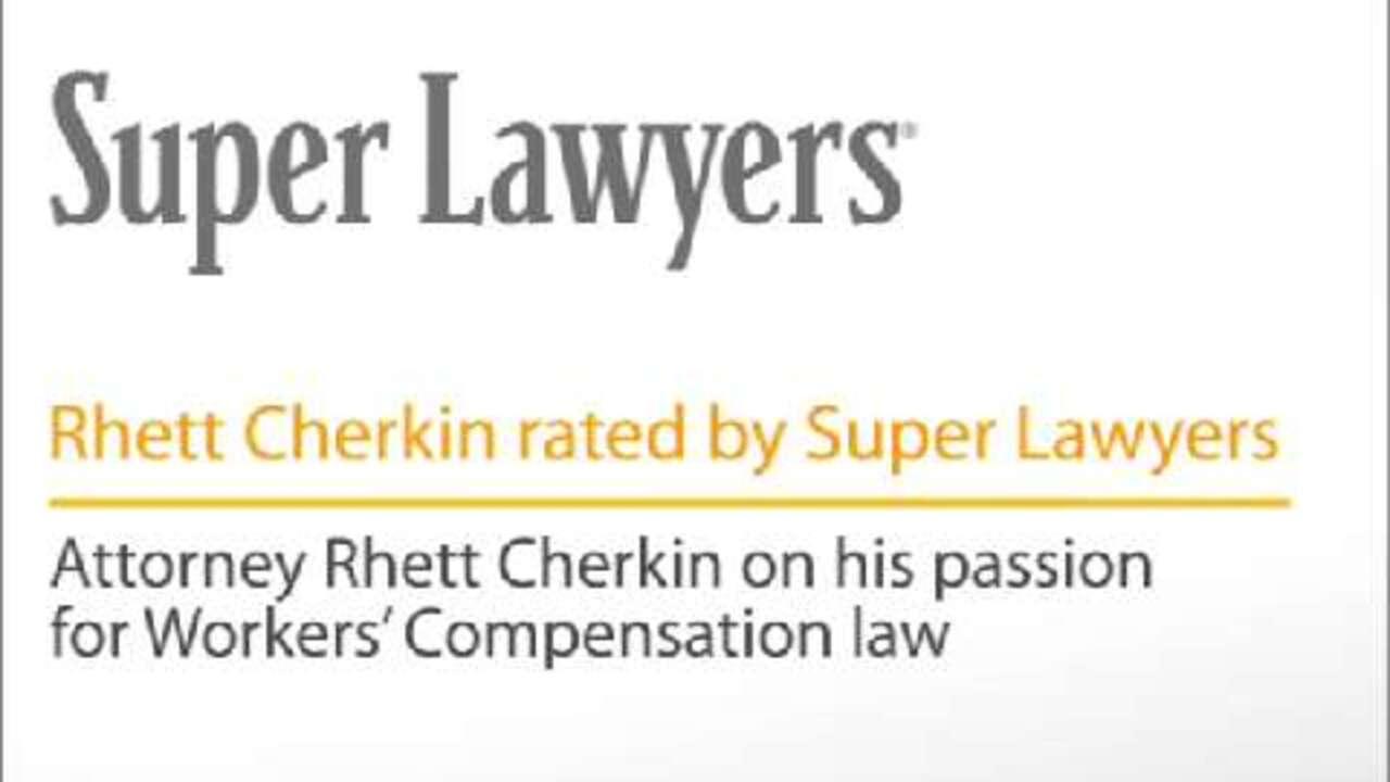 Rhett Cherkin, Pittsburgh Workers' Compensation Attorney