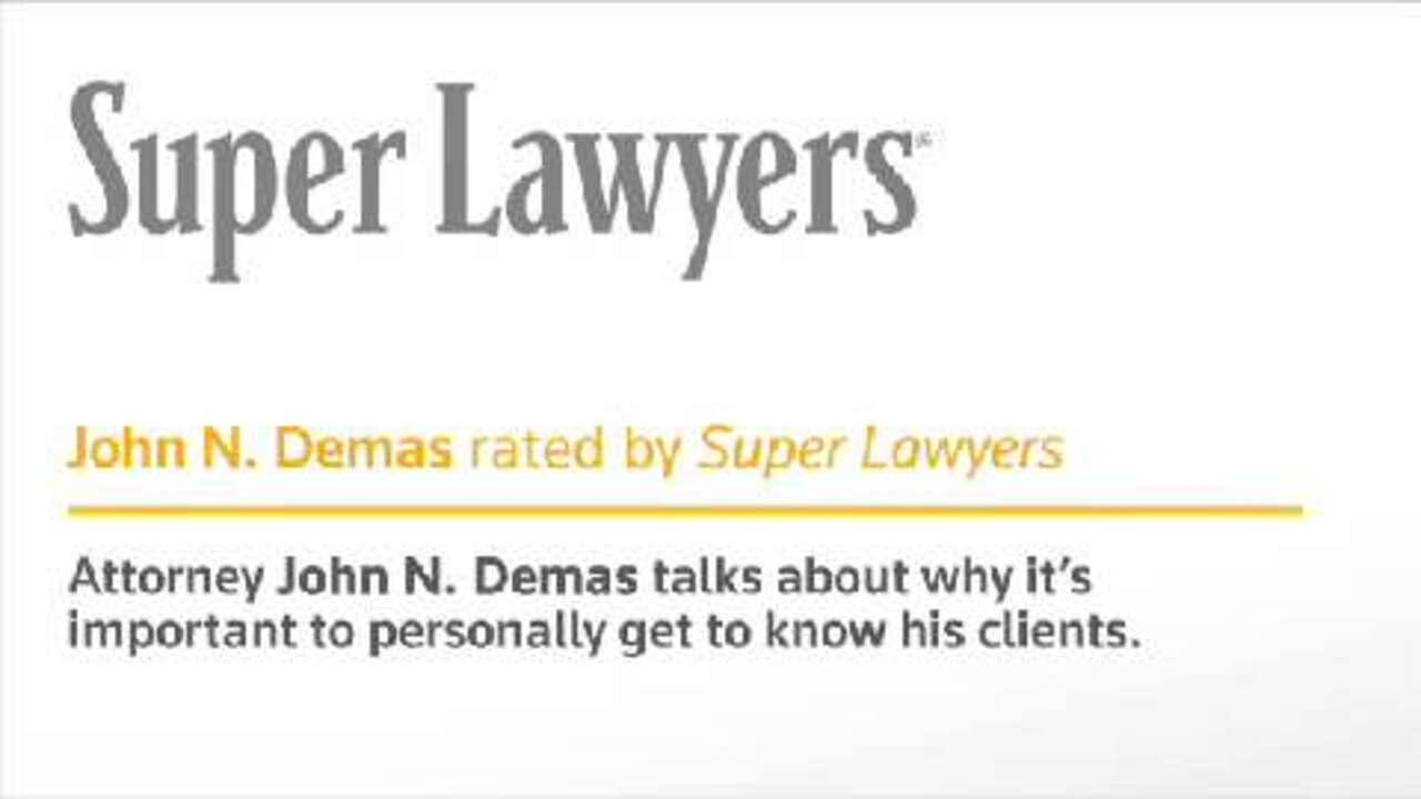 John N. Demas, Sacramento Injury Attorney- CA Super Lawyers