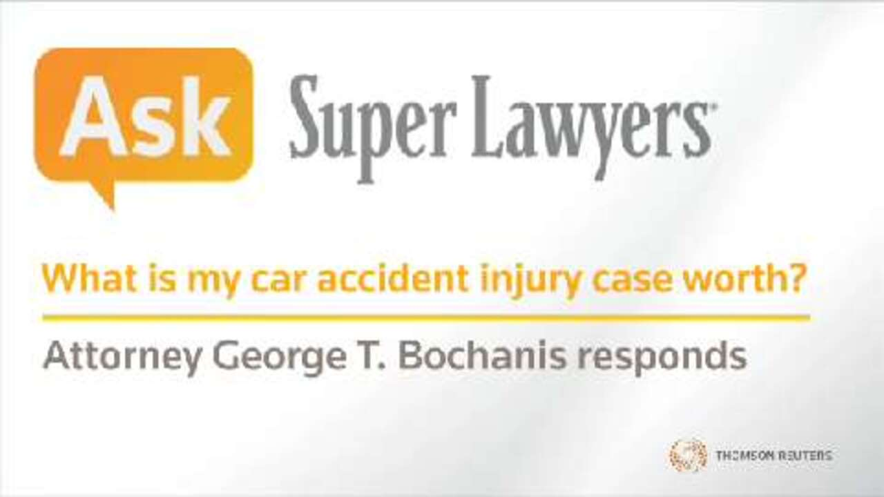George Bochanis, Las Vegas Injury Attorney- Super Lawyers